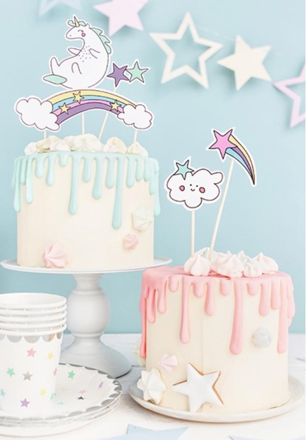 formar till tårtor