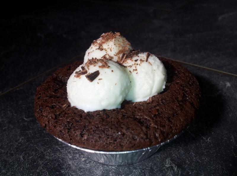 Basilika Brownie - Kladdmuffins
