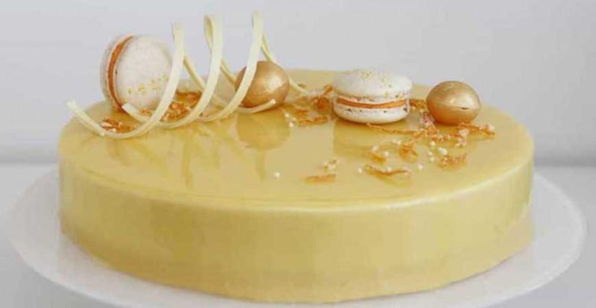 Tårtor med Mirror glaze / Spegelglasyr