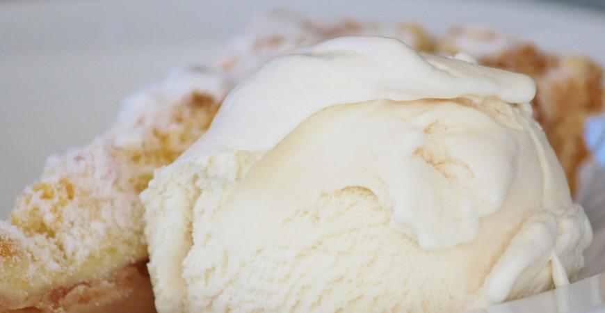 Hemgjord vaniljglass